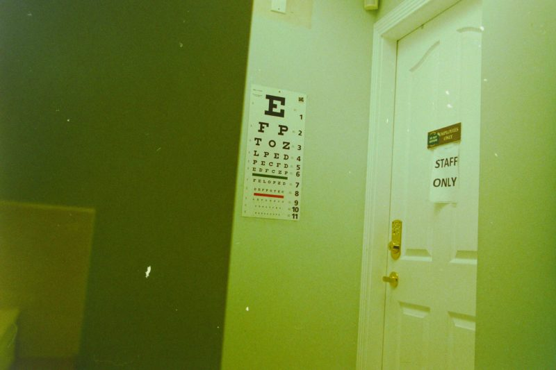 eye-test-chart-on-wall
